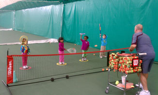 Tiny Tennis 4-6 Year of Age Wednesday 4:00-5:00 PM  November 01 thru December 20, 2017 (8 Weeks)
